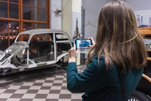 """Papildytos realybės mobilioji programėlė """"ETM: žvelk giliau"""""""