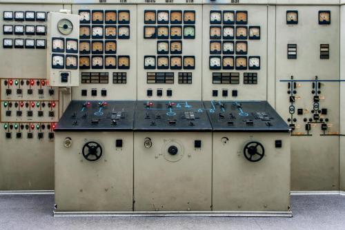 Elektrinės valdymo pultas